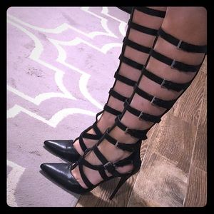 Cage heels sz 7